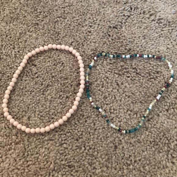Jewelry - Set of 2 Beaded Chokers